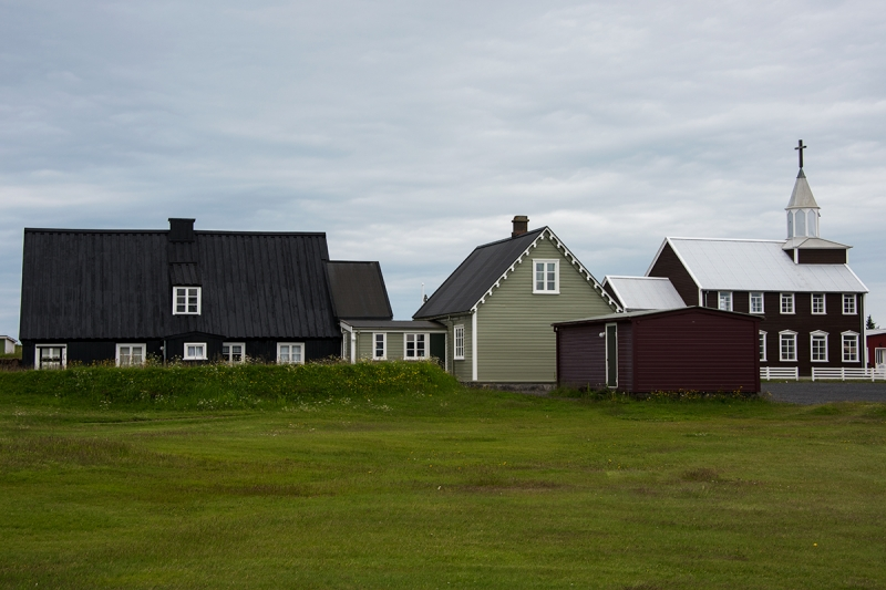 Small towns and villages in Iceland