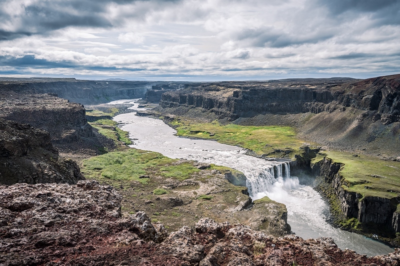 The summer is the best time to visit Iceland