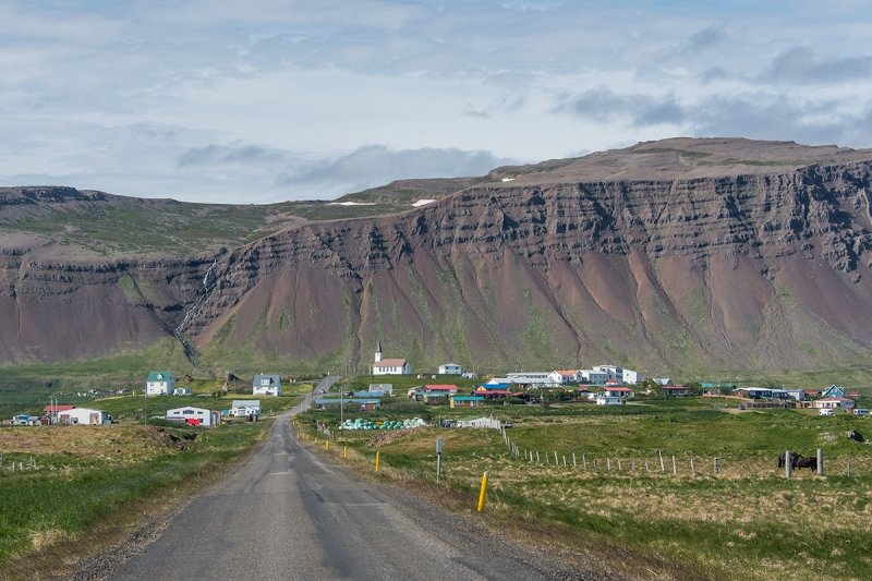 Reykhólar is a tiny village in the West Fjords