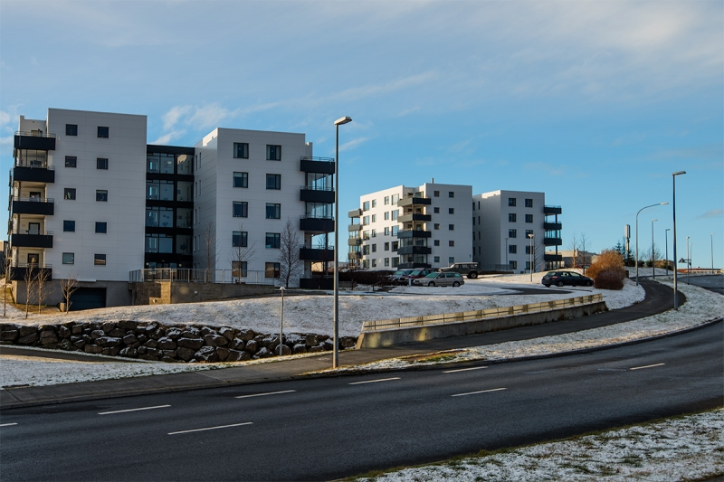 Grafarholt is the newest district in Reykjavík