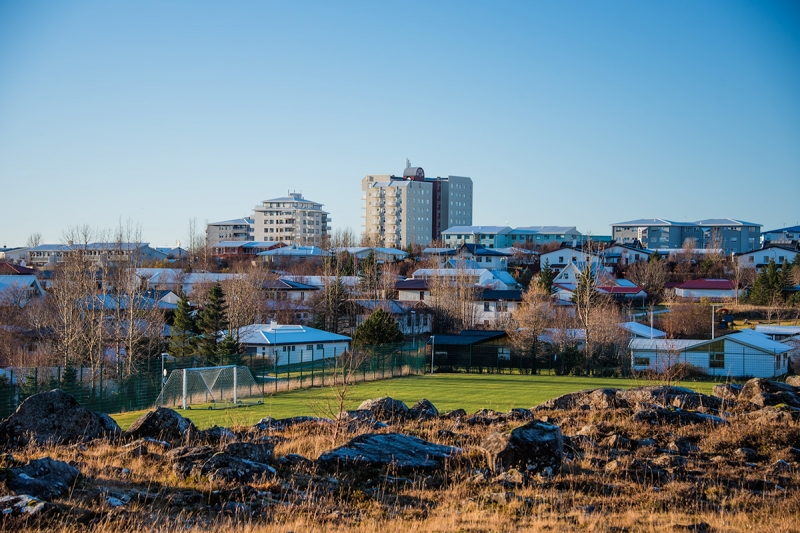 Grafarvogur is the second largest district in Reykjavík