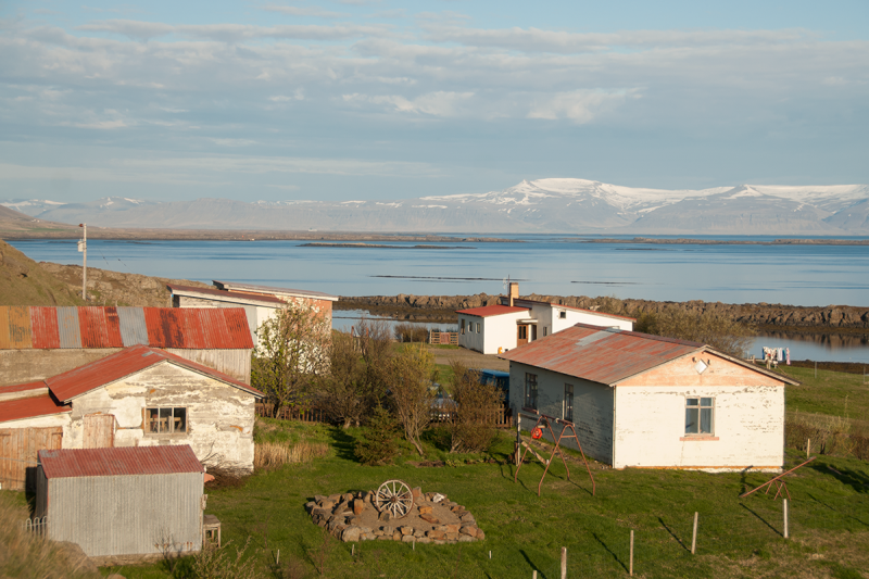 Although few people live on Barðaströnd, there are a few houses