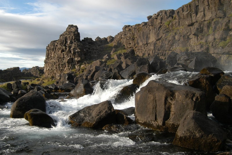 Öxarárfoss at Þingvellir