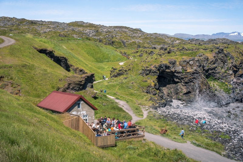 It defies imagination that Hellnar on the south coast of the Snæfellsnes Peninsula used to be one of the largest fishing villages south of the glacier.