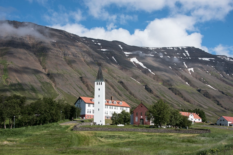 After the Icelanders had converted to Christianity, Hólar became the Episcopal see in the north with Skálholt serving the same function in the south.