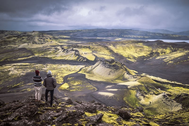 Lakagígar in the Icelandic highland it is only accessible from late June until the beginning of October.