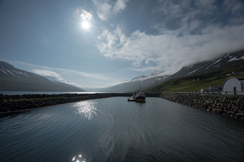 Mjóifjörður (The Narrow Fjord), is 18 km long and quite remote, even according to Icelandic standards.