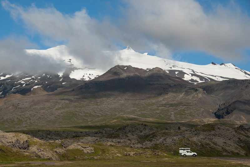 Snæfellsjökull is irrefutably the best know glacier in Iceland.