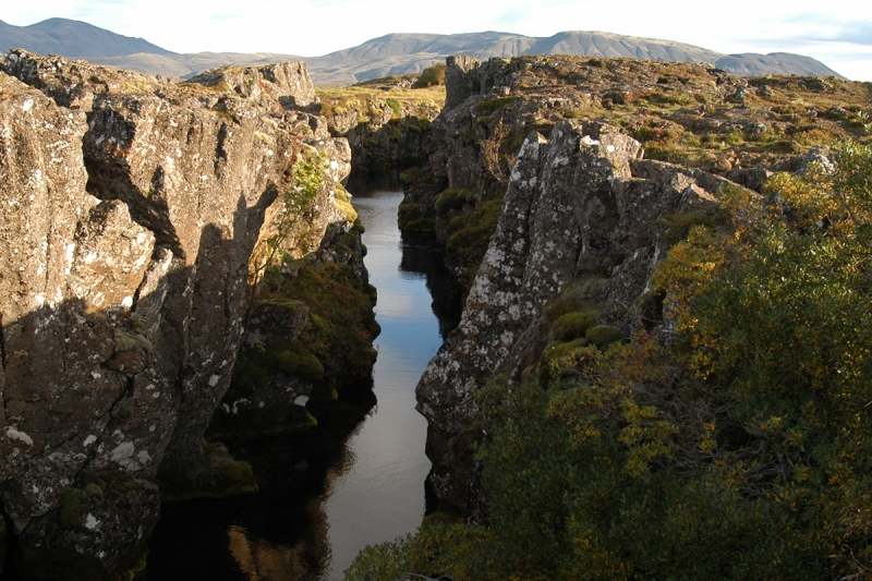 The lava and the geology of Þingvellir makes the place even more interesting