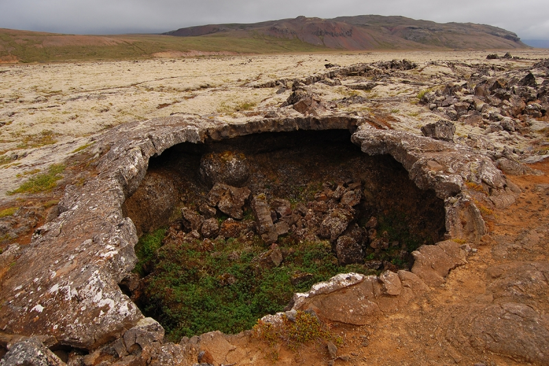 Víðgelmir is one of the most intriguing caves in Iceland.