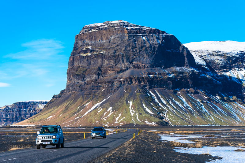 A good 4X4 is always the best option in Iceland