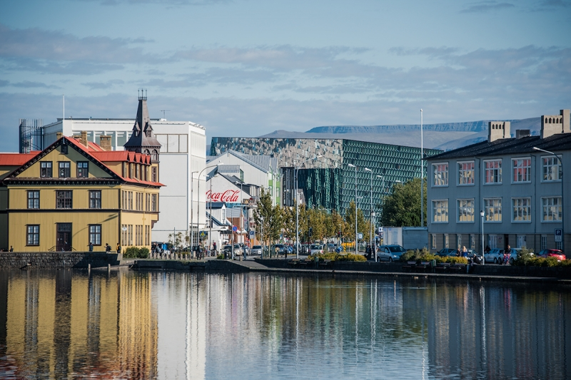 Reykjavík - seen from the city pond
