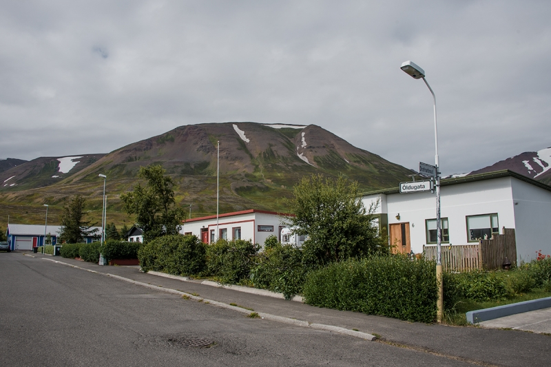 Dalvík is a small town in the Northern Region in Iceland