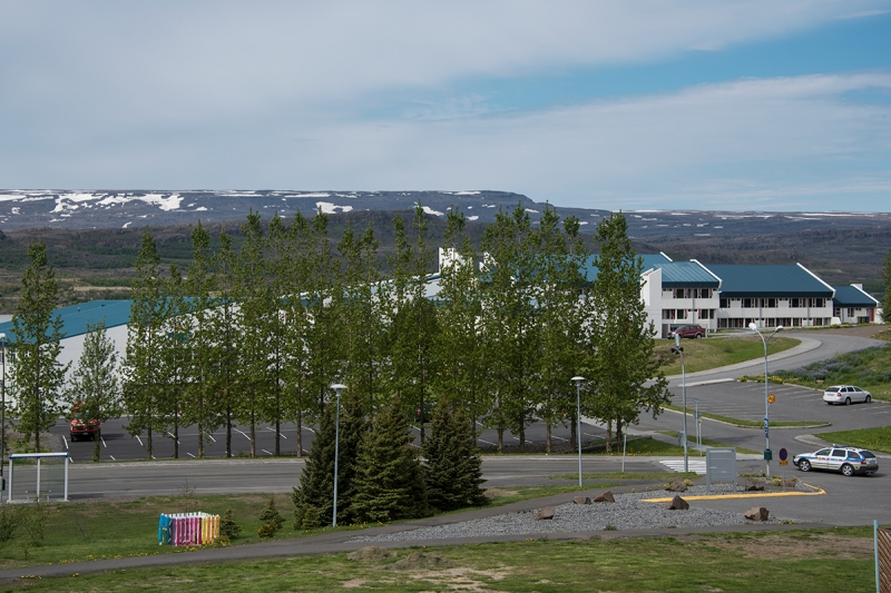 Egilsstaðir is a small town and the center of the Eastern Region