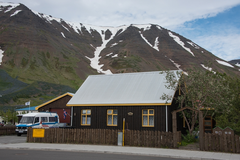 Flateyri is a small village in the West Fjords in Iceland