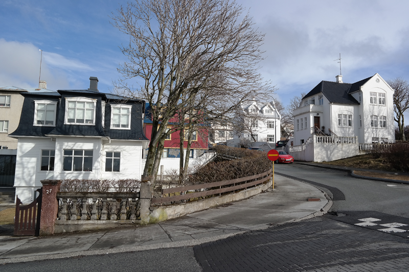 There are so many old and renovated homes in Hafnarfjörður