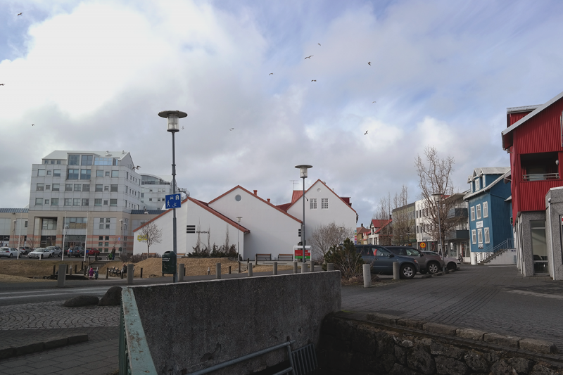 The town center is the saddest part of this beautiful Icelandic town, an architectural disaster