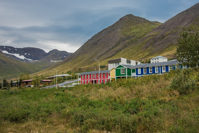 Siglufjörður has seen some housing development in recent years after decades of stagnation