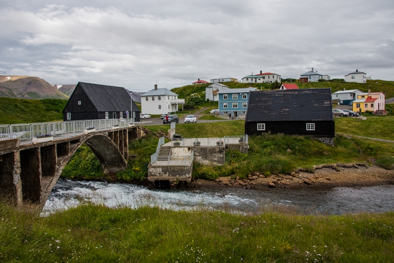 Hofsós is a tiny village in the Northern Region in Iceland with old and interesting houses