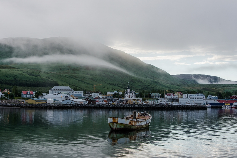 Located in a gorgeous landscape, Húsavík is a beautiful town