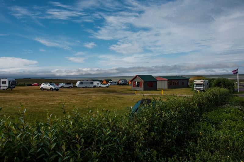 Hvammstangi has one of the best Camp Sites in Iceland