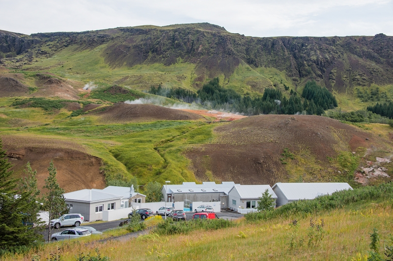 Hveragerði is a small town in the Sourhern Region in Iceland