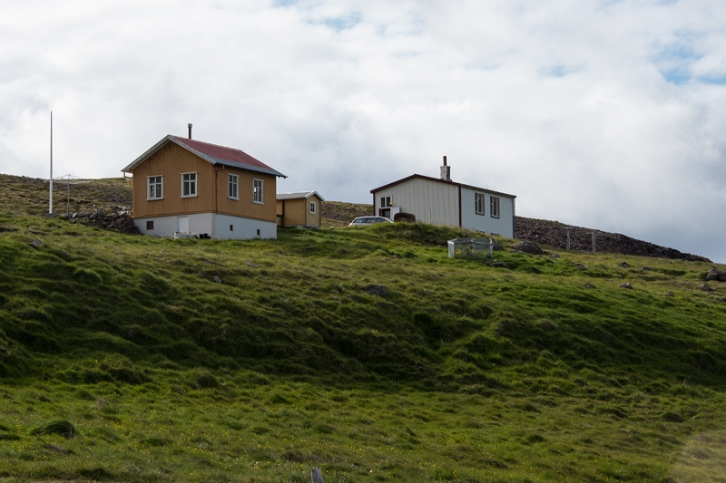 Djúpavík is a tiny deserted village in the West Fjords in Iceland