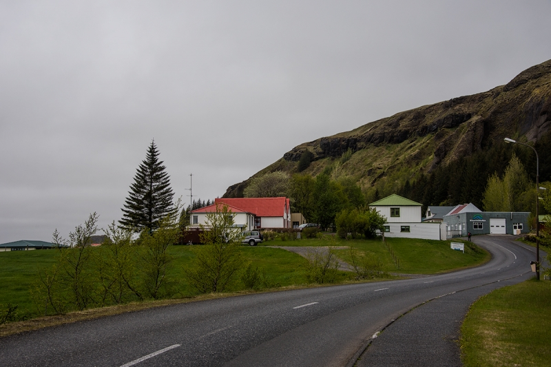 Kirkjubærjarklaustur is a tiny village in the Sourhern Region in Iceland