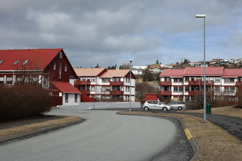 New houses near the new mall Smárinn