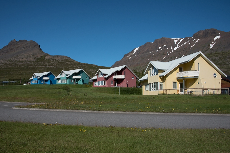 Súðavík is a small village in the West Fjords in Iceland