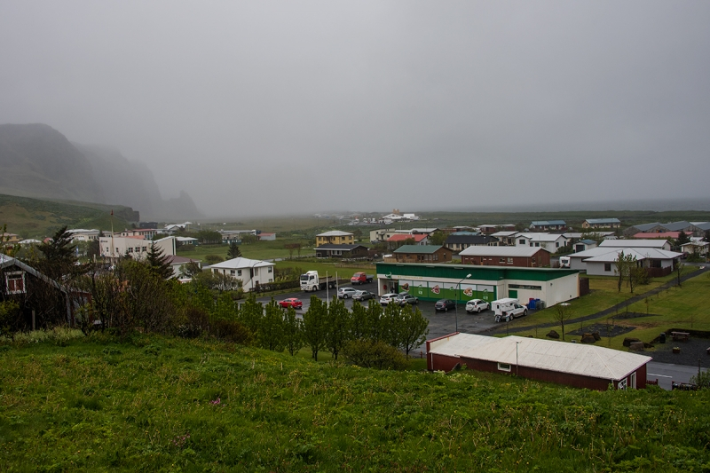 Vík is a tiny village in the Sourhern Region in Iceland