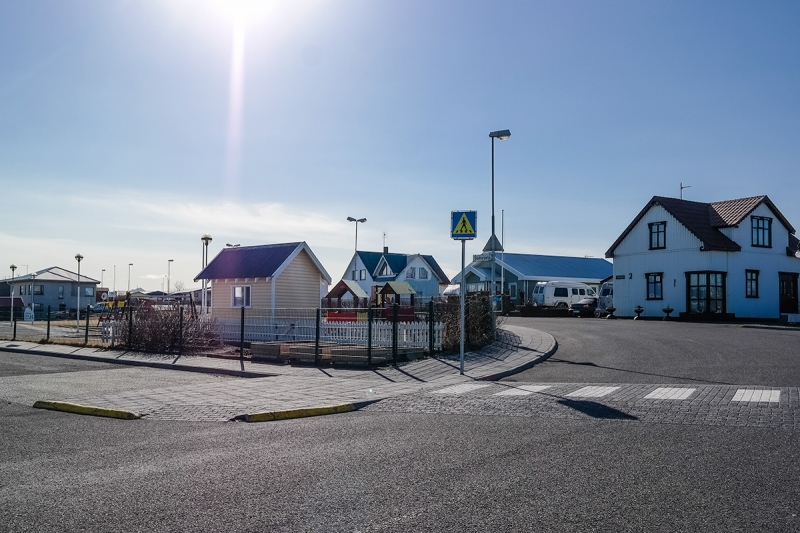 Vogar is a small village in the Reykjanes peninsula in Iceland