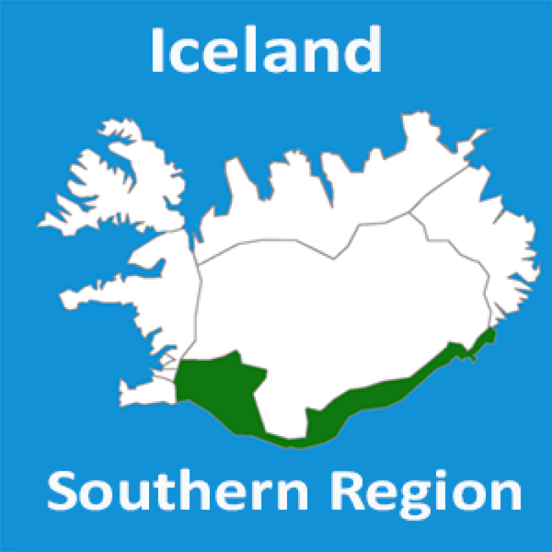 South Region in Iceland