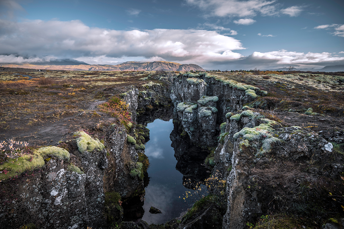 Þingvellir National Park is a place you can visit all year round